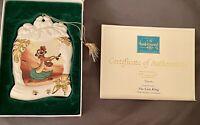 Walt Disney Ornament Collectors Society Lion King Timon Luau 1998 NIB COA