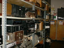 McIntosh Marantz JBL Altec Jensen Western Electric Fisher Scott EV Equipment