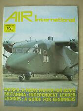 AIR INTERNATIONAL MAGAZINE NOVEMBER 1984 SHORT C-23A SHERPA