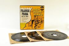 Backroom Piano VOL 2  Frankie Froba Boys Decca 9-87 3x7