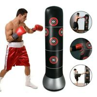 Punch Tower Speed Bag Boxing Punching Bag Tumbler Sandbag Kick MMA Training