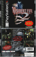 Resident Evil 2 NTSC PS1 Front & Back Replacement Box Art Case Insert Cover Scan