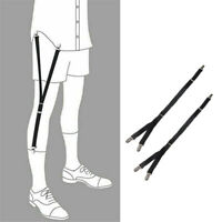 Men Socks Garters Elastic Sock Stays Belt Clip Adjustable Suspenders Accesso SL