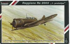 "Special Hobby Reggiane Re 2003, "" 1. Prototipo""  72135 ST"