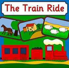 THE TRAIN RIDE- story teaching resources on CD- EYFS, KS1, journeys, transport