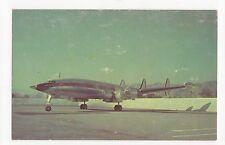 Iberia Lockheed L-1049G Super Constellation Aviation Postcard, A678