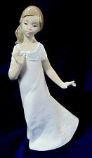 Nao By Lladro #1579 Pretty Naomi Brand Nib Girl White Dress Save$ Free Shipping