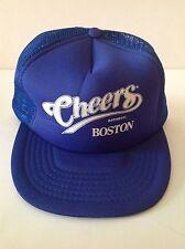 Blue Cheers Boston True Vintage 1989 Mesh Cap Hat NORM Beer Bar Pub New Wo Tags