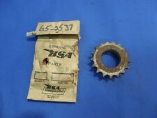 NOS BSA A7 A10 Engine front sprocket RGS 65-2537  B31 B32 B33      B835