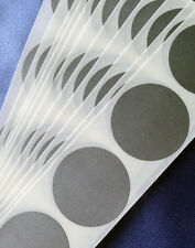 """100 Round 1"""" Silver SCRATCH OFF Stickers Labels Games Tickets Favors Promotional"""