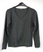 Lange Langarm Damen-Pullover & -Strickware aus Acryl ohne Verschluss