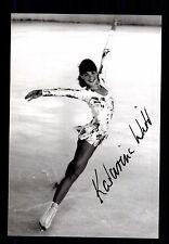 Katarina Witt  ++Autogramm++ ++Eiskunstlauf Legende ++ CH 123