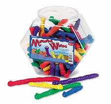 Learning Resources Measuring Worms, set of 72
