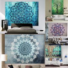 Indisch Stil Mandala Tapisserie Wandteppich Wandbehang Bettdecke Strandtuch