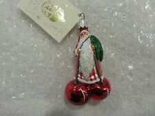 "Patricia Breen Ornament ""Cerise Santa - Striped"" 2003 #2315 Nwt"