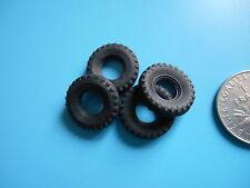4 Pneus noir cranté / 4 tyres black Dinky Toys GB, Guy, Armoured car 18x8 18/8