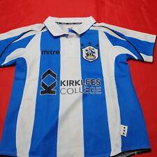 rare maillot  de football HUDDERSFIELD TOWN  taille 7/8 ans mitre foot england