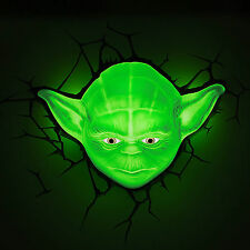 Night Light Star Wars Yoda Head Home Christmas Halloween Birthday Toy Gift Lamp