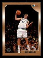Dirk Nowitzki Rookie Card 1998-99 Topps #154