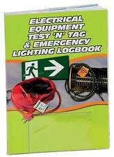 Electrical Test'n'Tag and Emergency Lighting Logbook  Equipment Safety Log Book