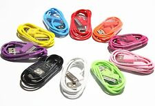 Sync data USB charger cable cord for iPhone 4 4S 4G 4th IPOD new power 1m Radom