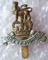 Vintage Royal Army Pay Corps Officer's Cap Badge QC Bi-metal Genuine*