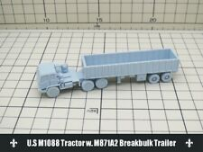 1/144 RESIN KITS U.S M1088 Tractor w. M871A2 Breakbulk Trailer