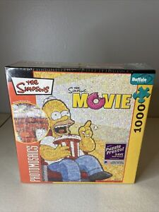 Robert Silvers Photomosaics The Simpsons Movie 1026-Piece Puzzle NEW, Sealed