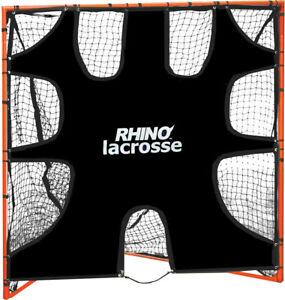 Champion Sports Rhino Lacrosse 6'x6' Heavy Duty Shooting Goal Target 9 Zones