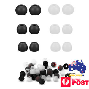 6 x Universal Earphones S M L Replacement Silicone Earbuds Ear Bud Tips Covers