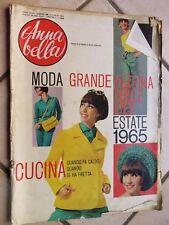 ANNA BELLA 8 luglio 1965 Inchiesta Donne carriera Beatles Milano Fredric March