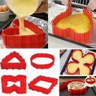 4Pcs Nonstick Silicone Bake Snakes Cake Mold Magic Diy Cake Mould Baking Tools