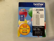 NEW Brother LC203BK XL  Black Noir Ink Cartridges