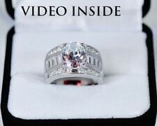 Engagement Oval White Gold Fine Diamond Rings