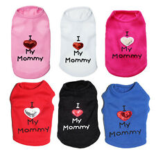 Dog Hoodie Cat Vest Puppy T Shirt Summer Spring Clothes chihuahua teacup yorkie