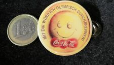 COCA COLA COKE PIN badge medal Slogan OLYMPIC GAMES SUMMER sponsor v3