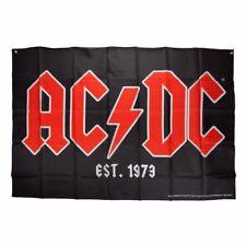 AC//DC FLAG BANNER CLOTH POSTER 3/' X 5/'