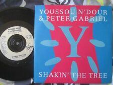 "Youssou N'Dour & Peter Gabriel – Shakin' The Tree VS 1167 UK 7"" Vinyl Single"
