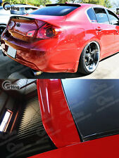 #RAW Painted For 07-13 Infiniti G35 G37 G25 Q40 4D BTO Roof Window Visor Spoiler