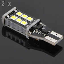 2PC Bright White Canbus Error 15SMD CREE 2835 T15 W16W LED Reverse Backup Light
