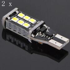 2PC Bright White Canbus Error 15SMD CREE 2835 T15 W16W LED Reverse Backup Light