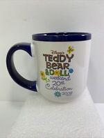 Disney Teddy Bear & Doll Weekend 20th Celebration Souvenir Mug Coffee Cup 2008