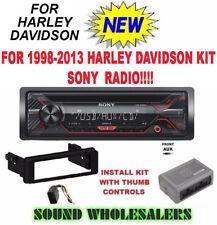FOR 98-13 HARLEY SONY PLUG & PLAY TOURING INSTALL ADAPTER FLHT RADIO FLHTC FLHX