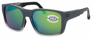 Costa Del Mar Tailwalker Matte Fog Gray Green 580G Polarized TWK 277 OGMGLP NEW