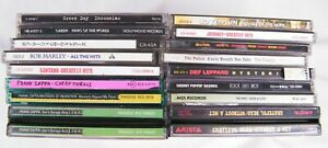 Lot of 18 CD's Rock, Classic, Punk, Reggae, Hippie, Etc...
