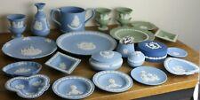 More details for vintage job lot wedgwood jasperware pope charles diana queen egg loving cup etc