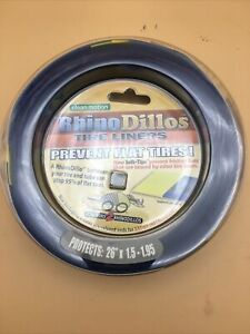 "RhinoDillos Tire Liners Flat Protection 26""x1.5-1.95 for two wheels"