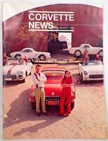Corvette News Magazine Feb. March 1972 Vintage Car