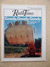 Radio Times/1973/The Goodies/Wombles/Elisabeth Beresford/Ivor Wood/Andy Warhol/