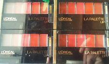 4 Loreal Colour Riche LA PALETTE LIP, *RUBY 01* New Unsealed